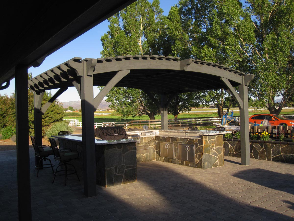 Outdoor Living Today Pergola with Retractable Canopy