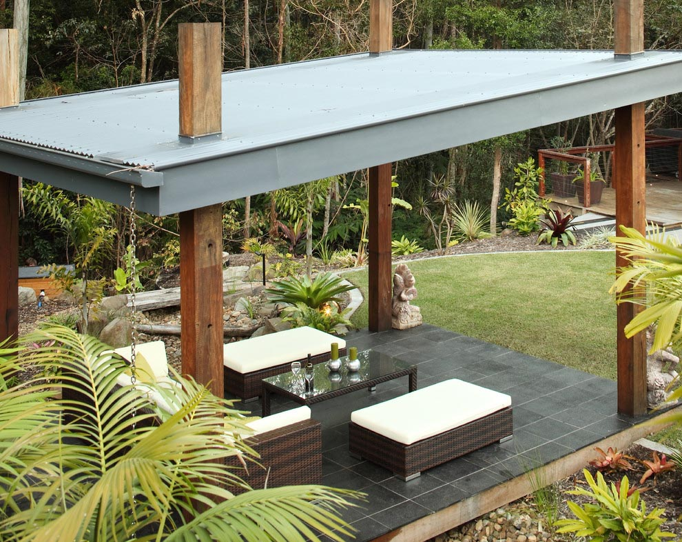 Outdoor Metal Roof Gazebo