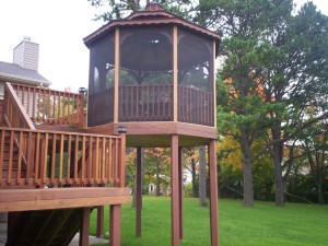 Outdoor Patio Screen Gazebo