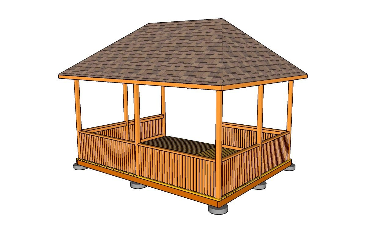Outdoor Screened Gazebo Plans