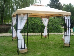 Outdoor Screened Gazebo Tent