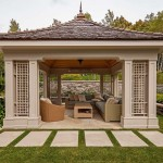 Outdoor Screened in Gazebo