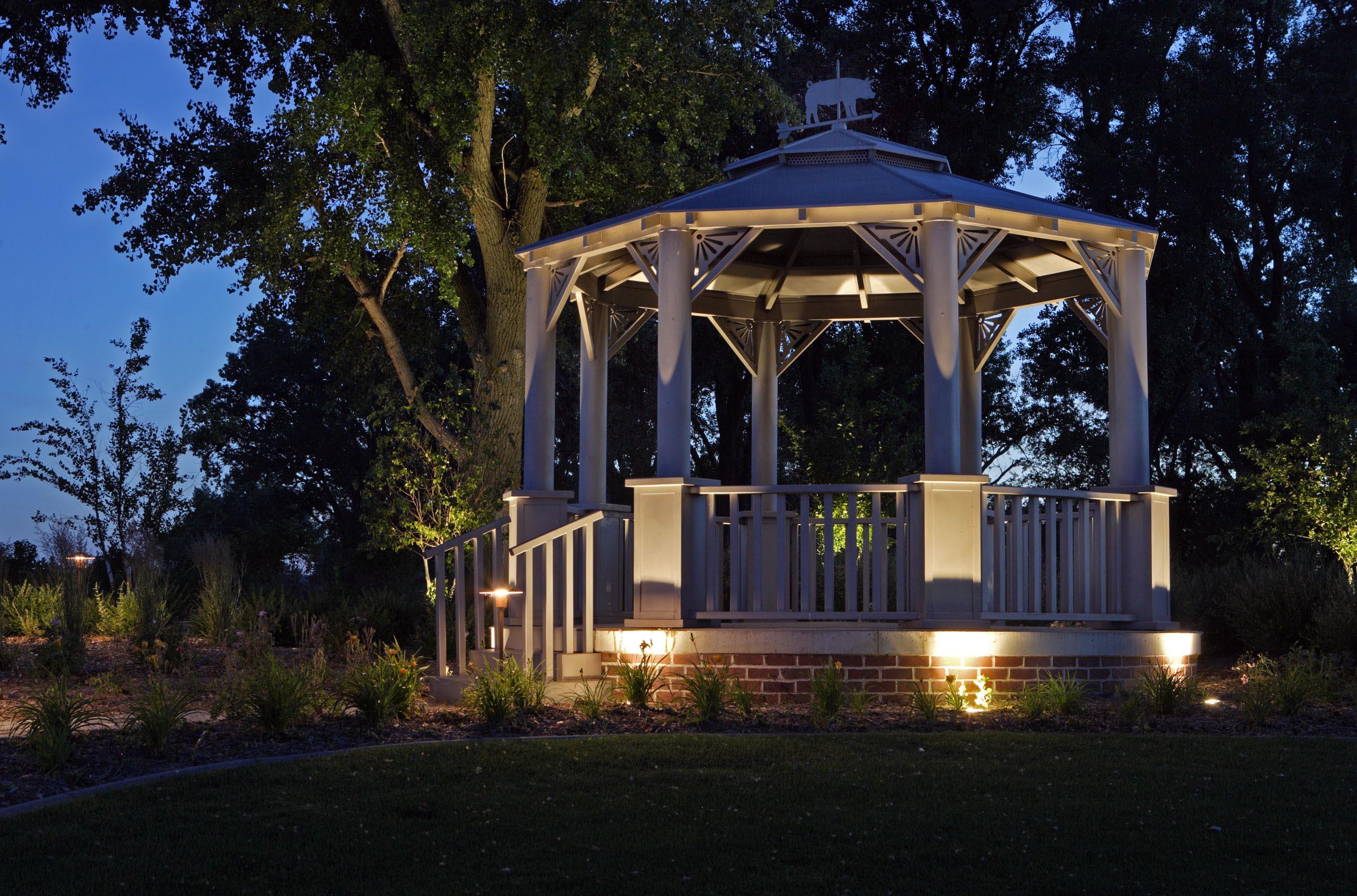 Outdoor Solar Gazebo Lights