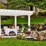 Outdoor Vinyl Pergola Kits