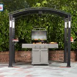 Outdoors Grill Gazebo with Lights