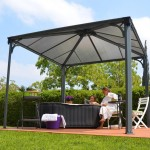 Patio Gazebo Metal Roof