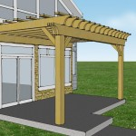 Pergola Attached to House Kit
