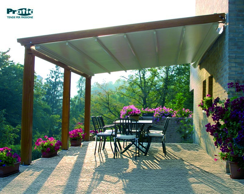 Pergola Coverings for Rain