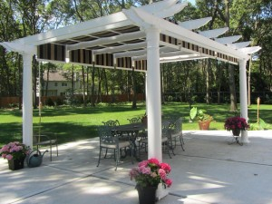 Pergola Deluxe Shaded Canopy