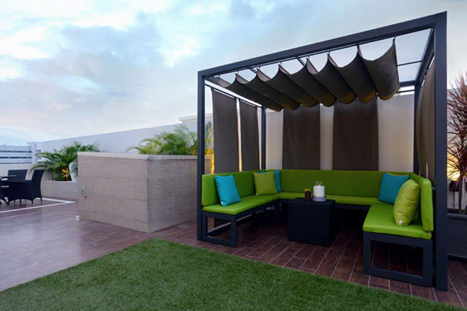 Pergola Fabric Covers Ideas