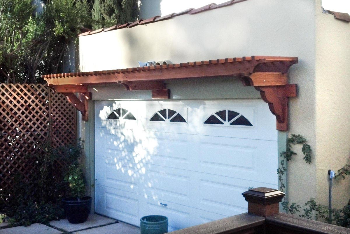 Pergola Kits Over the Garage