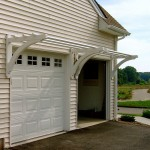 Pergola Over Garage Door Kits