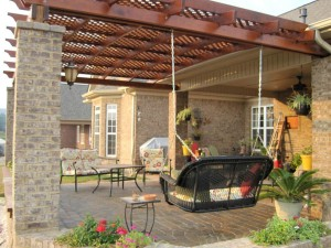 Pergola Plans Attached to House Kits