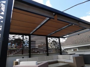 Pergola Retractable Canopy Kit