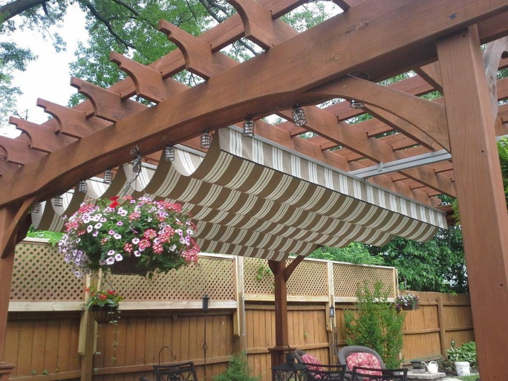 Pergola Roof Cover Options