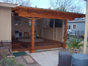 Pergola Style Patio Cover