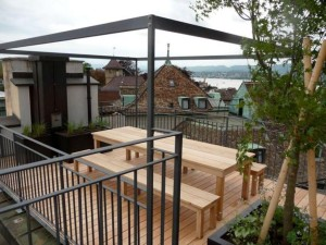 Pergola with Retractable Canopy