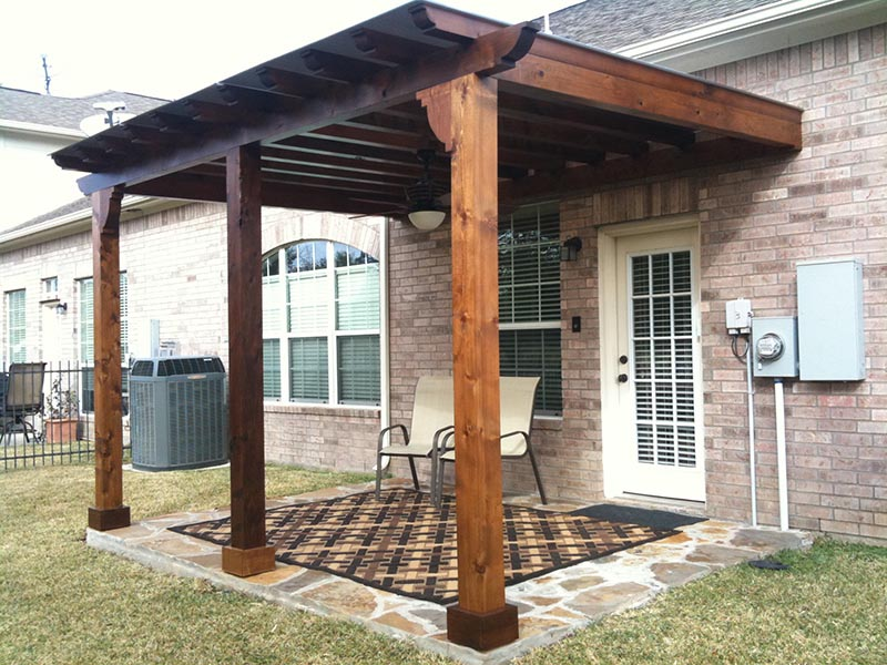 Pergola with Retractable Cover