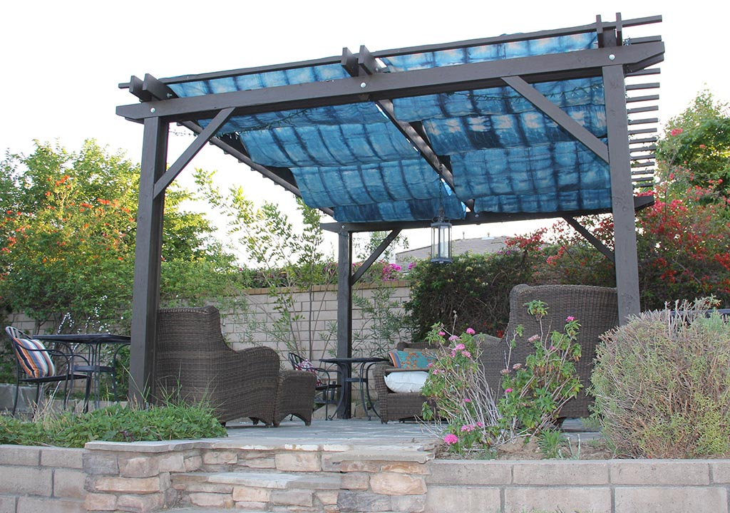 Pergolas with Rain Covers