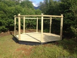 Plans for Octagon Gazebo