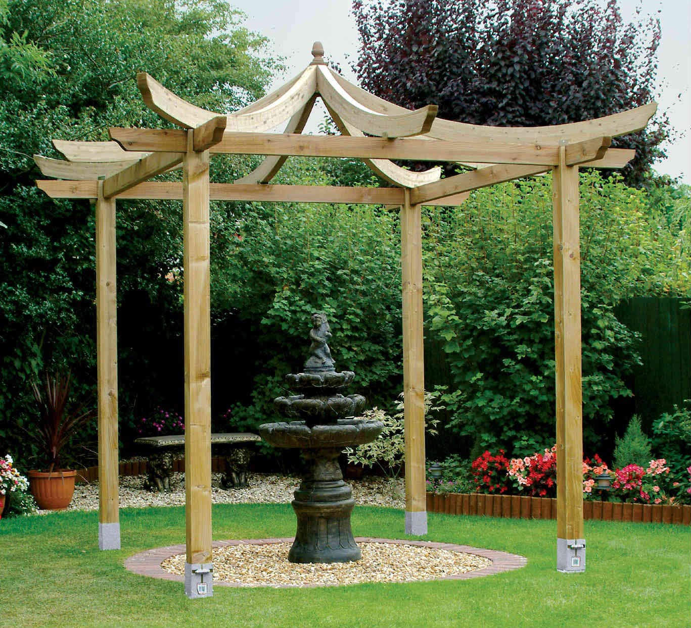 Plans for Wooden Gazebo