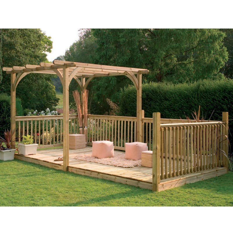 Pressure Treated Wood Pergola Kits