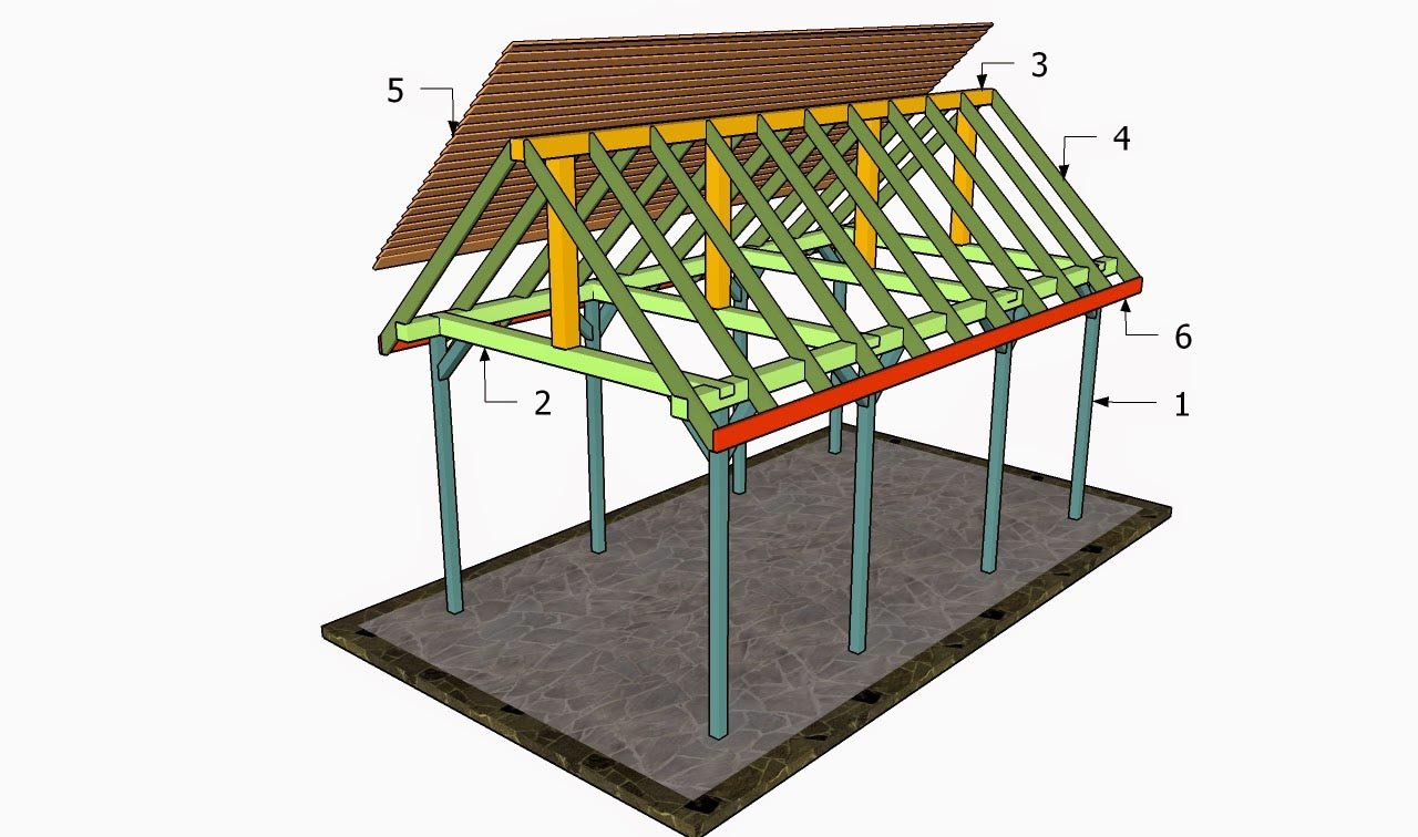 Rectangular gazebo plans bing images for Simple gazebo plans
