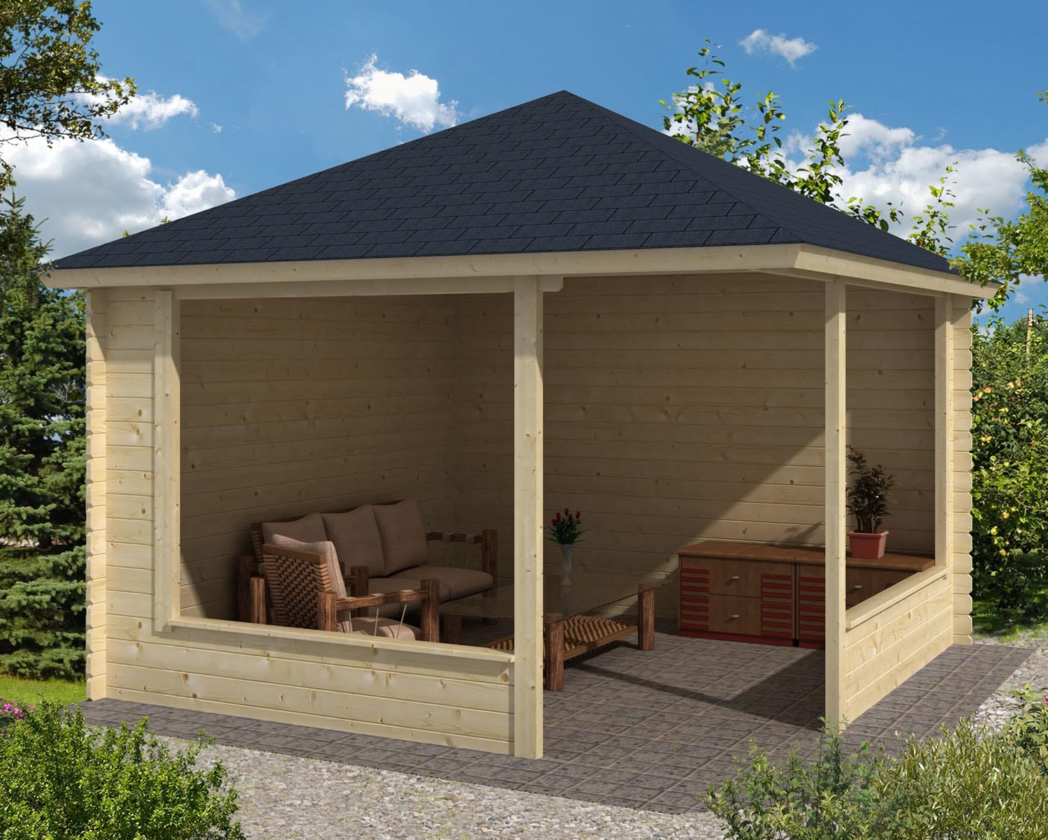 Rectangular Gazebo Plans Free Pergola Design Ideas