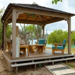 Rectangular Wooden Gazebo Kits