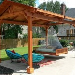 Red Wood Pergola Kits