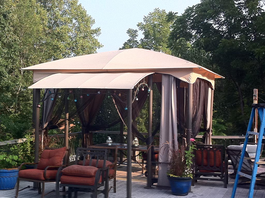 Replacement Pergola Shade Canopy