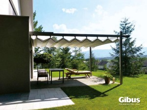 Retractable Canvas Pergola Cover