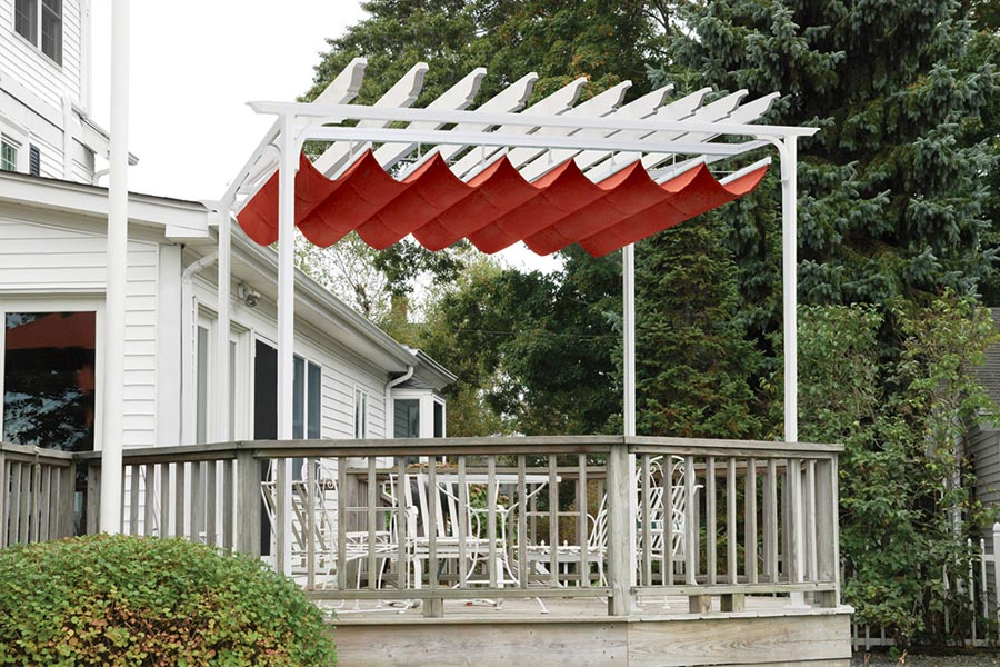 Retractable Cover for Pergola