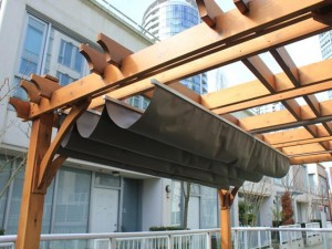Retractable Pergola Canopy Cover
