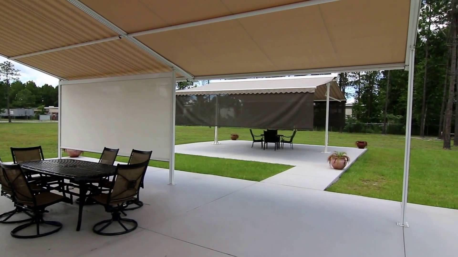 Retractable Pergola Canopy Kit