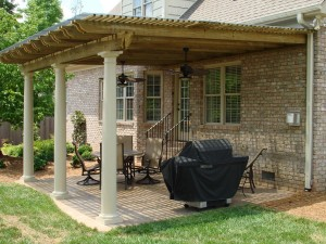 Retractable Pergola Rain Cover