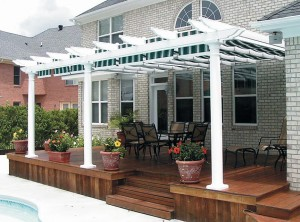 Retractable Pergola Shade Covers