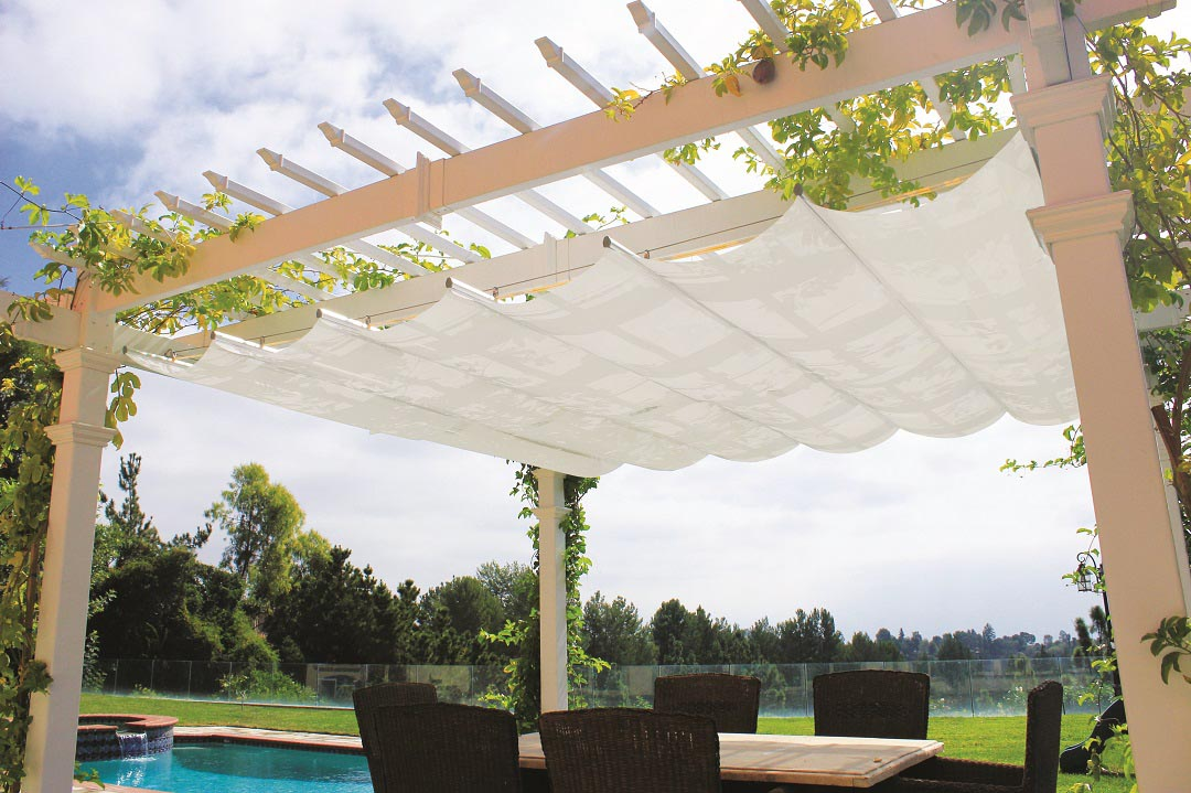Retractable Roof for Pergola
