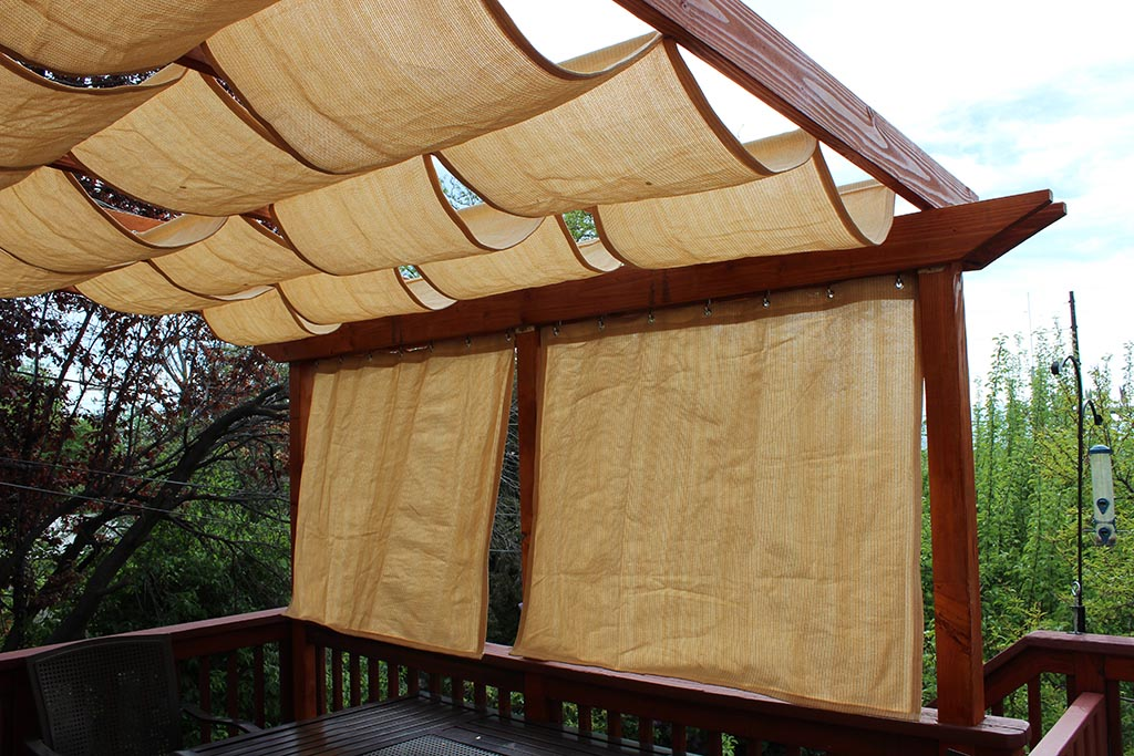 Retractable Roof Pergola DIY