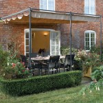 Retractable Shade Canopy for Pergola