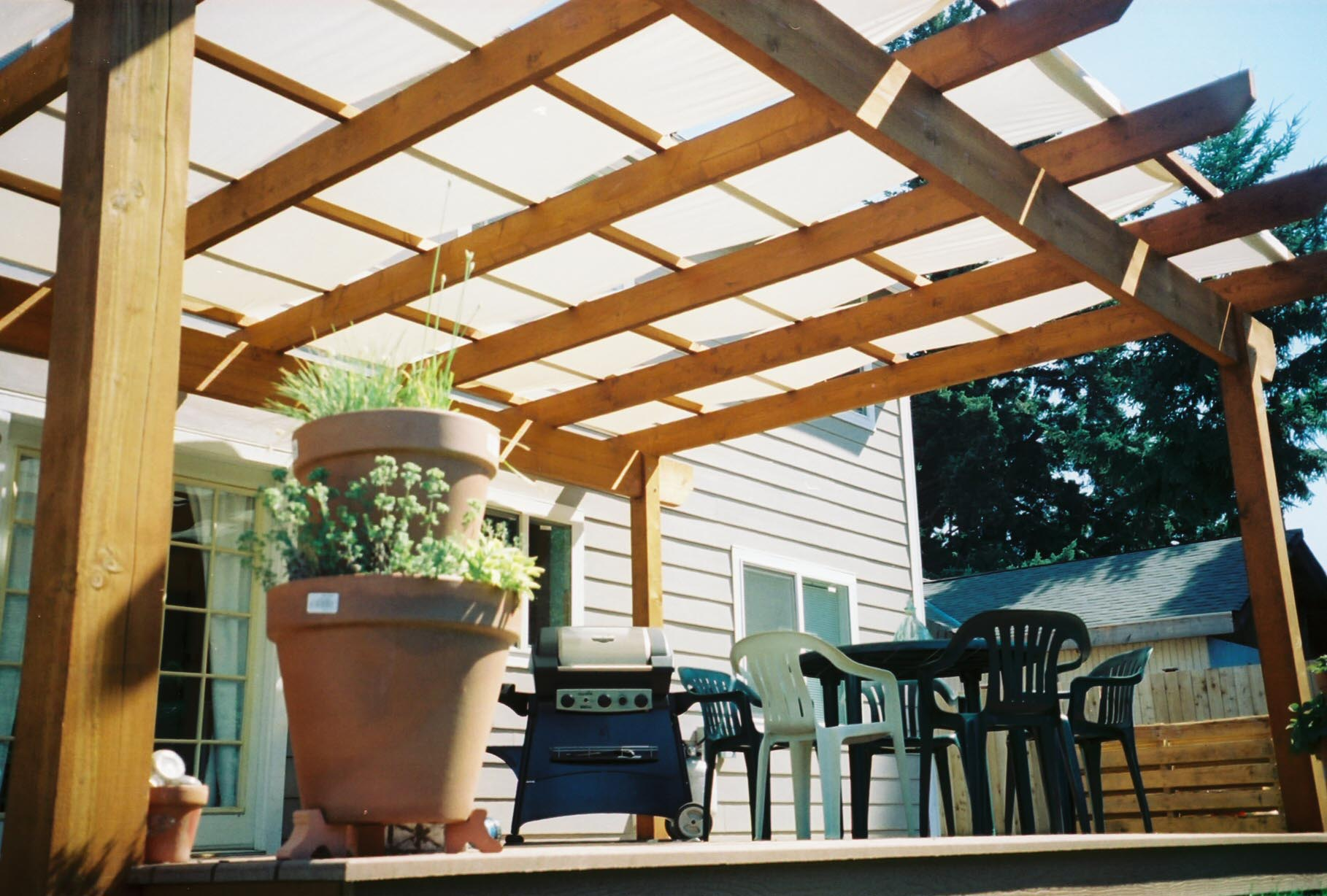 Roof Coverings for Pergolas