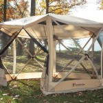Screened in Gazebo Tent