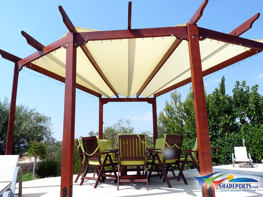 Shade Cloth Pergola Cover