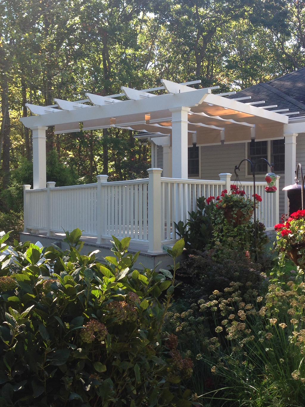 Shade Tree Pergola Canopy