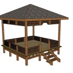 Simple Square Gazebo Plans