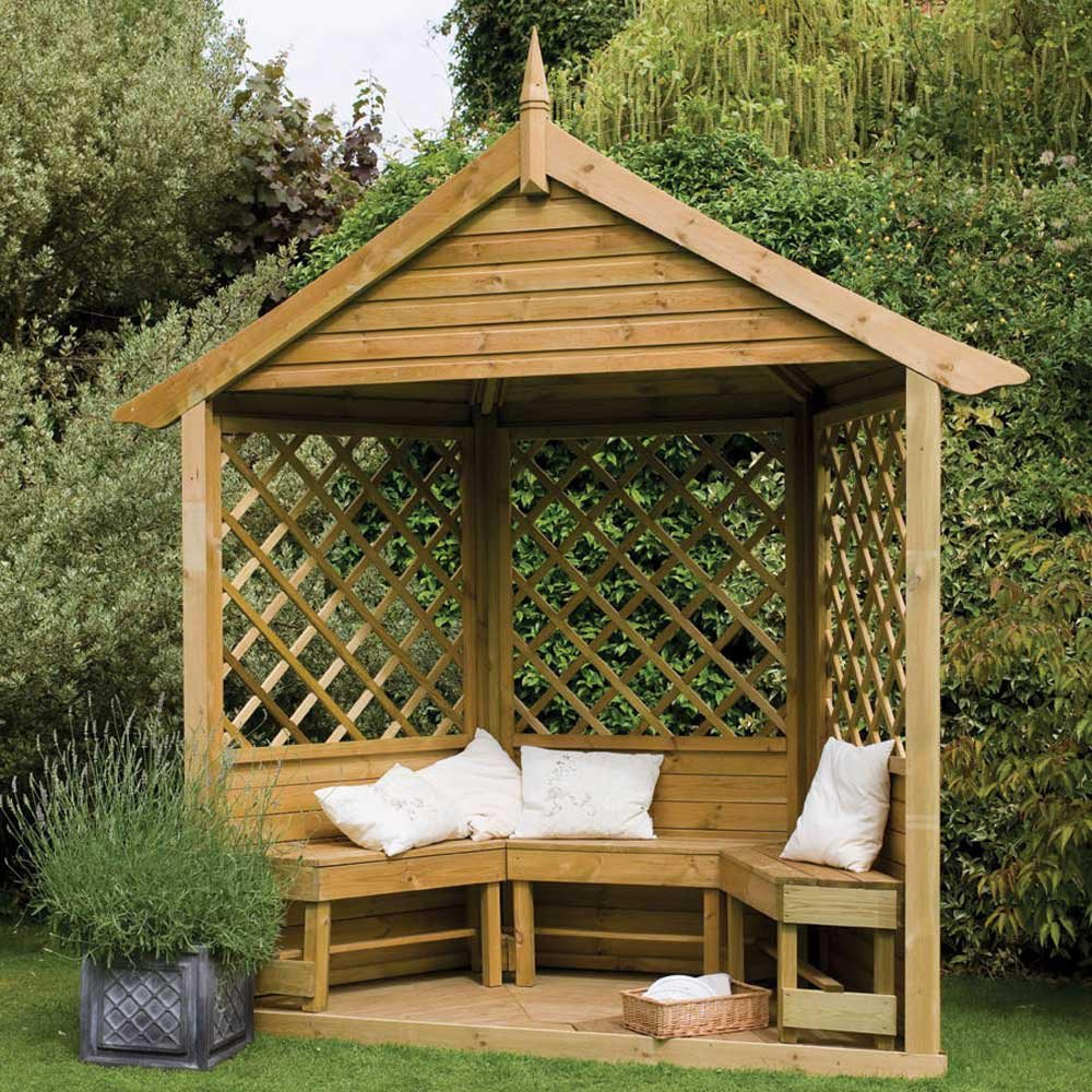 Small Wooden Gazebo Kits Pergola Design Ideas