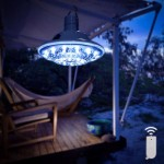 Solar Gazebo Light with Remote