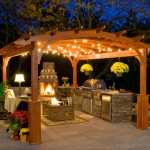 Solar Hanging Light for Gazebo