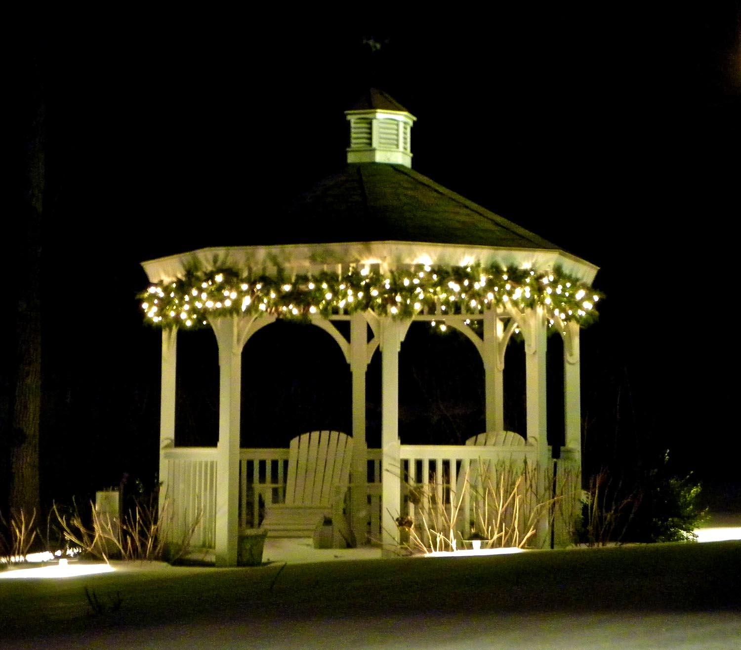 Solar Lights for a Gazebo
