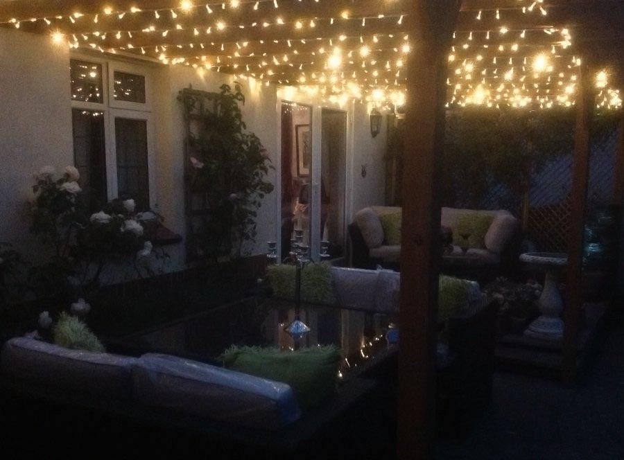 Solar Outdoor Lighting for Pergolas
